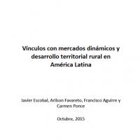 Vínculos con mercados dinámicos y desarrollo territorial rural en América Latina